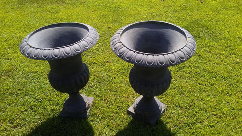 Urns - Short Pair Cast Iron Planter