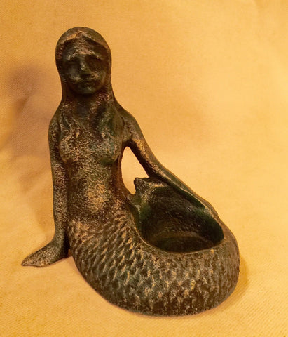 Cast Iron Mermaid - Ring Holder