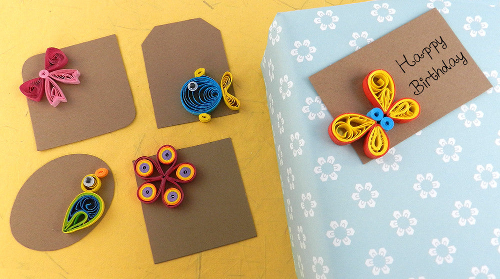 Quilling Cards Making A Fun Paper Craft Activity For Kids