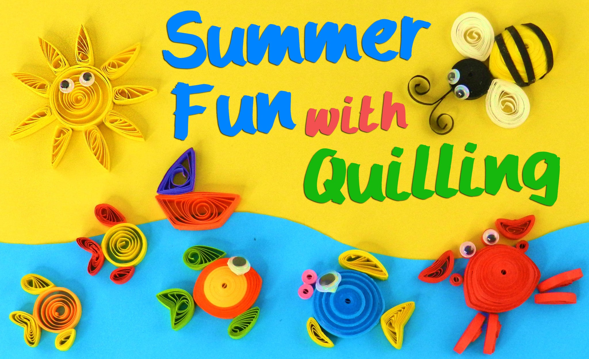 quilling in summer