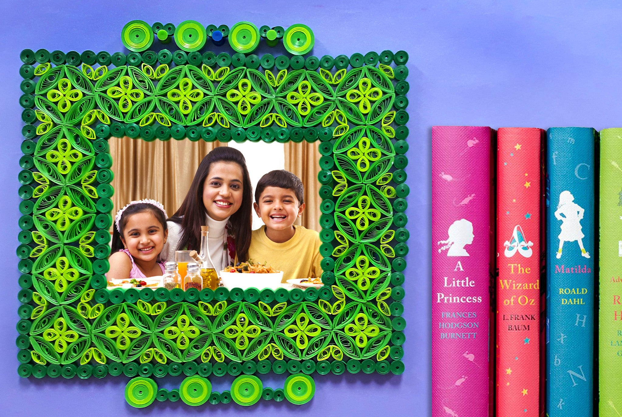Quilling photo frame