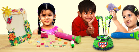Quilling - a perfect craft for kids