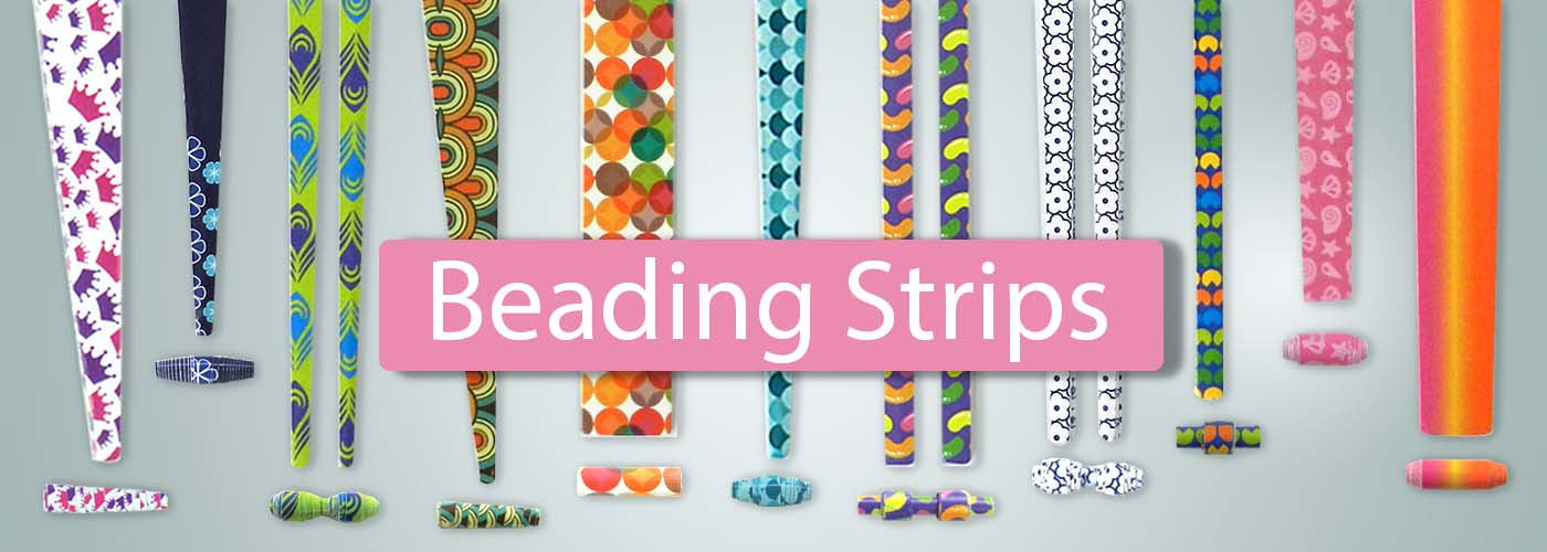 Paper Beading Strips Ready To Make Paper Beads Quill On