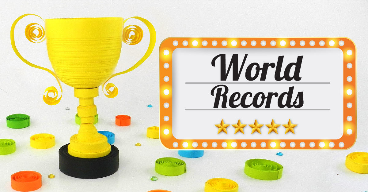 Quilling World Record