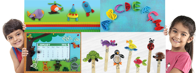 10 Quilling Craft Ideas For Kids Quill On
