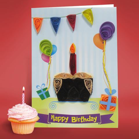 Quilling cards making a fun paper craft activity for kids quill on quilled birthday card m4hsunfo
