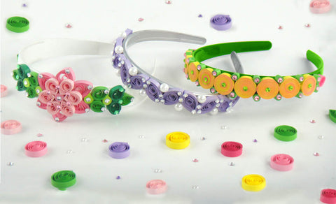 Quilling Hairband