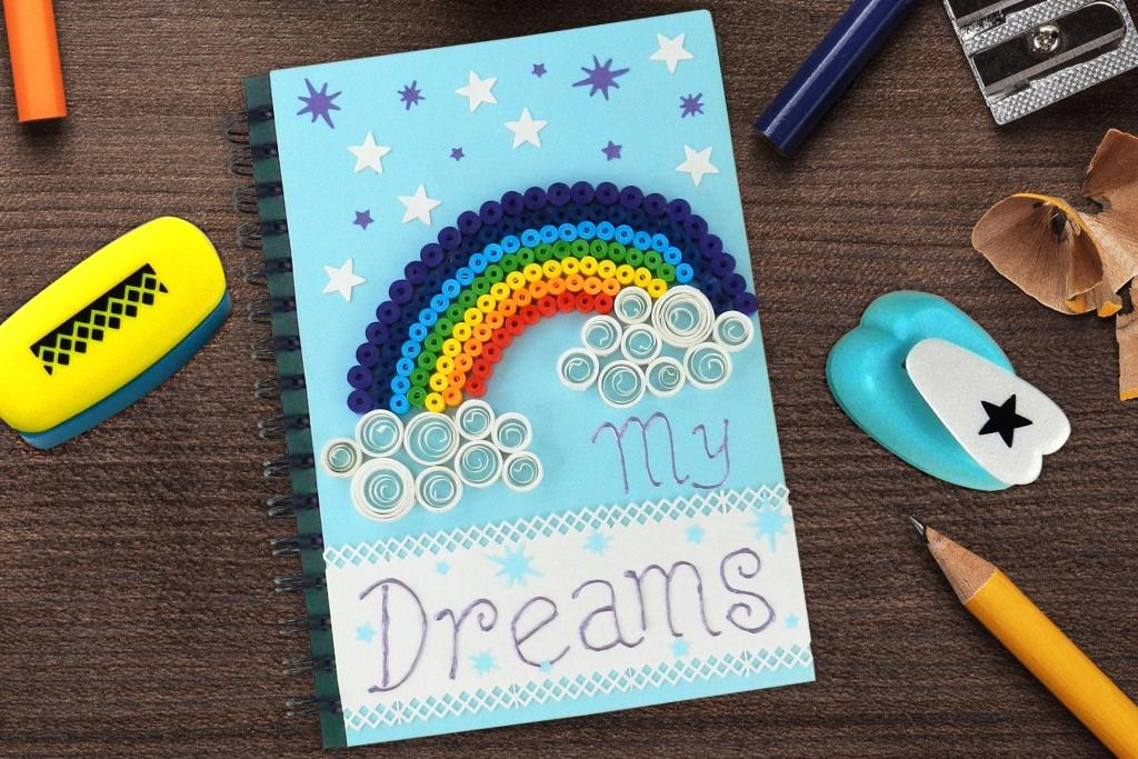Quilling Rainbow Book Cover