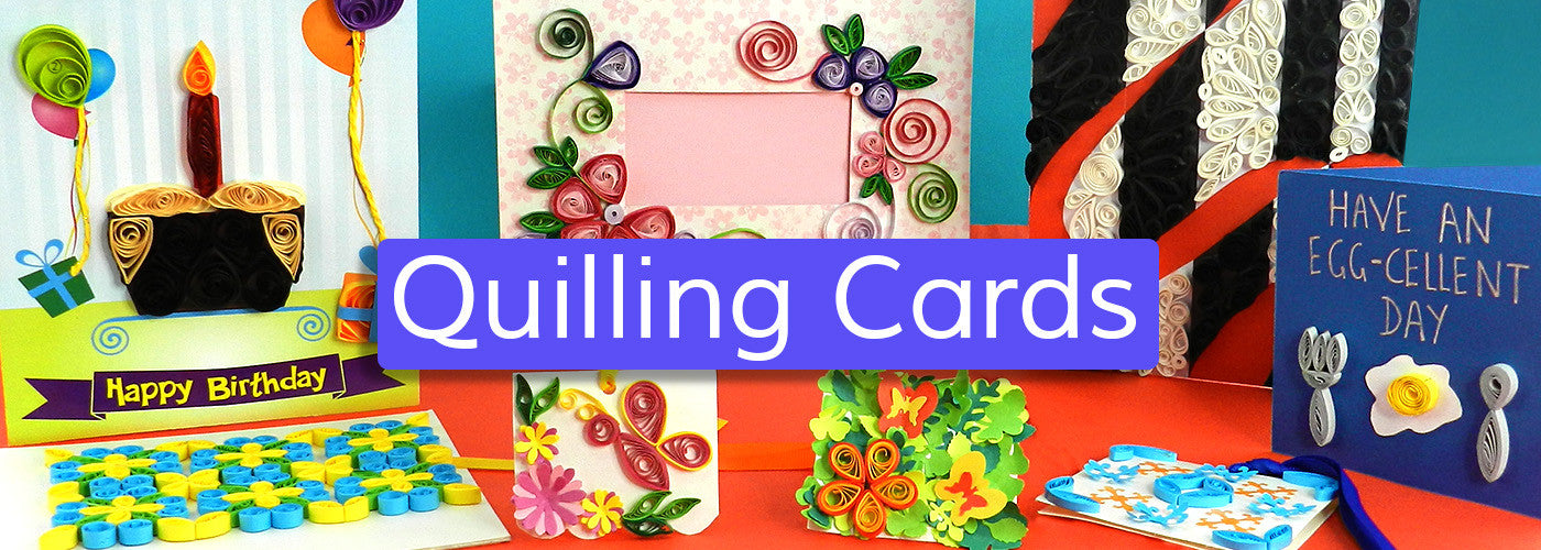quilling cards making  a fun paper craft activity for