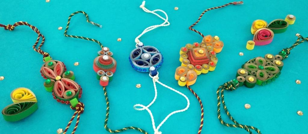 Spectacular Quilling Rakhies Quill On
