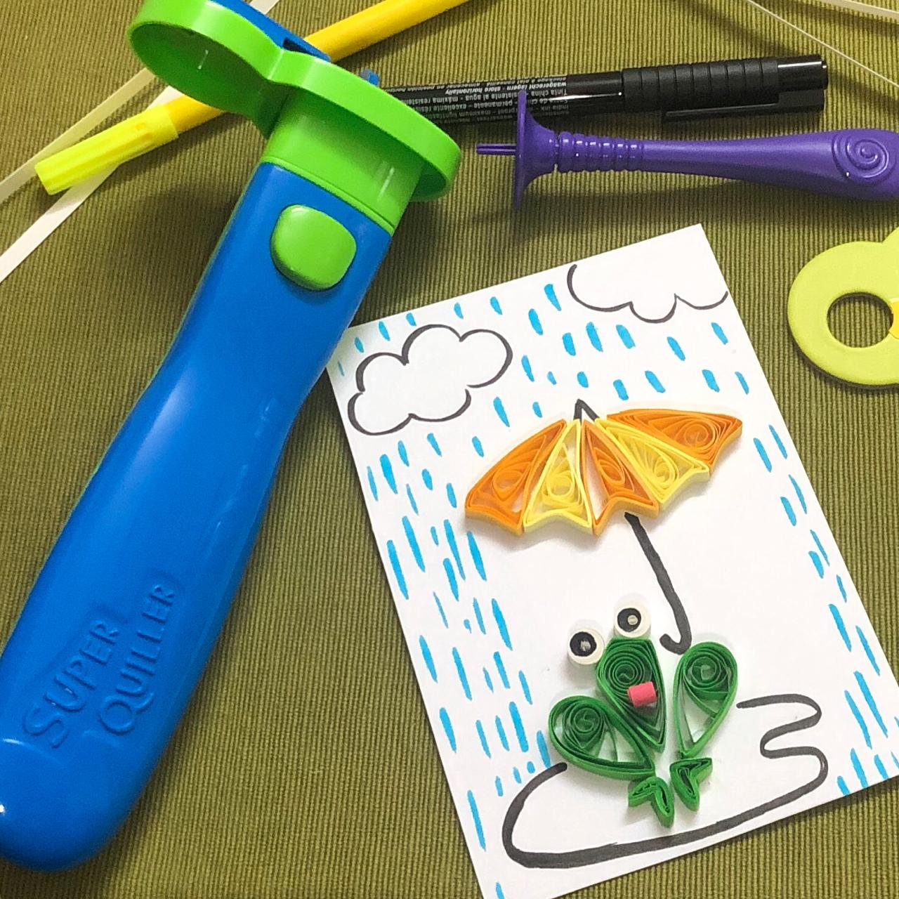 Frog and the Umbrella