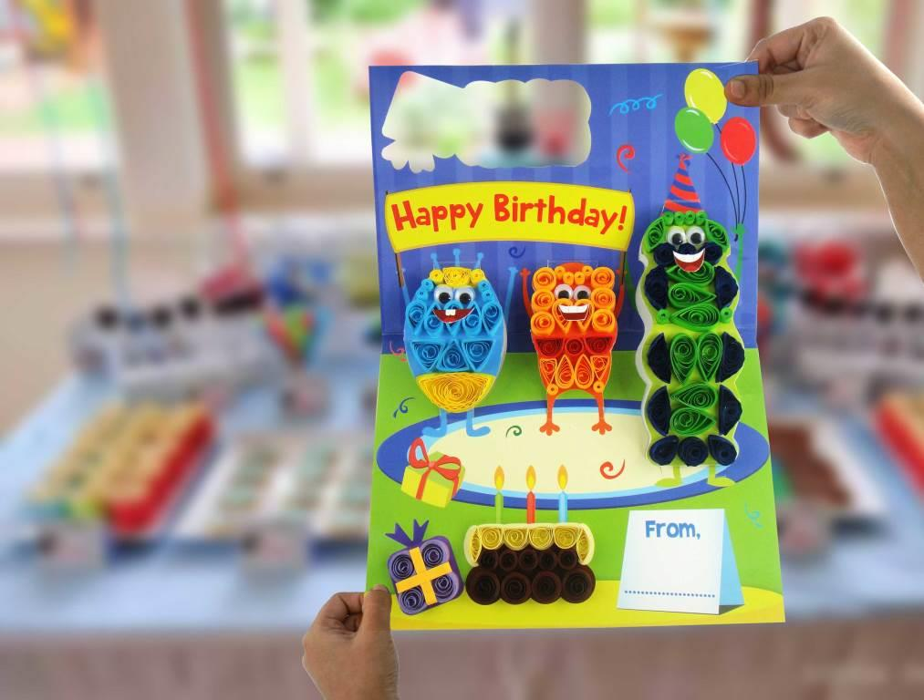 Monster Pop-up Card