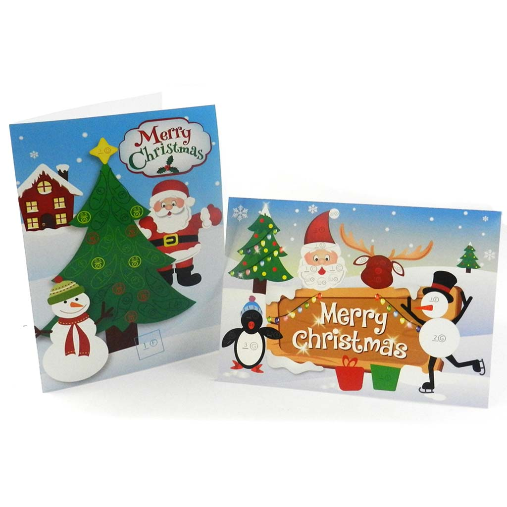 A Pair Of Christmas Cards Quilling Diy Quill On