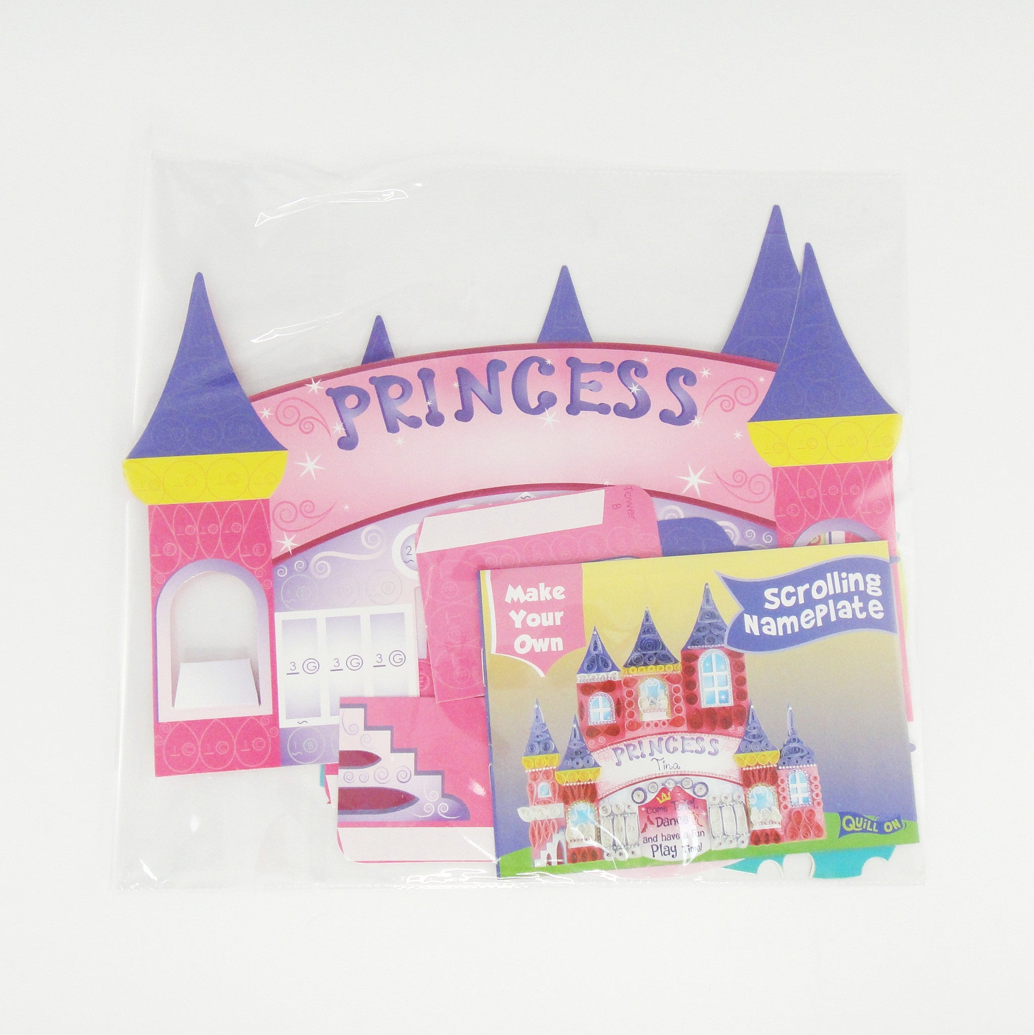 Princess Nameplate Quilling Diy Quill On