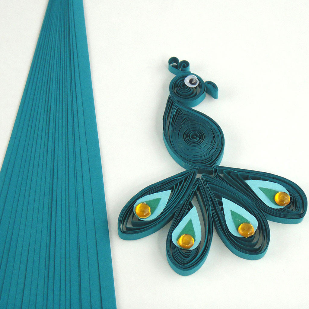 quilling paper strips Paper quilling strips - assorted colors - 1/4 x 21 inches - 100 pieces item #: 26501 upc #: 082676317699 min qty: 6 ea in stock: yes paper.