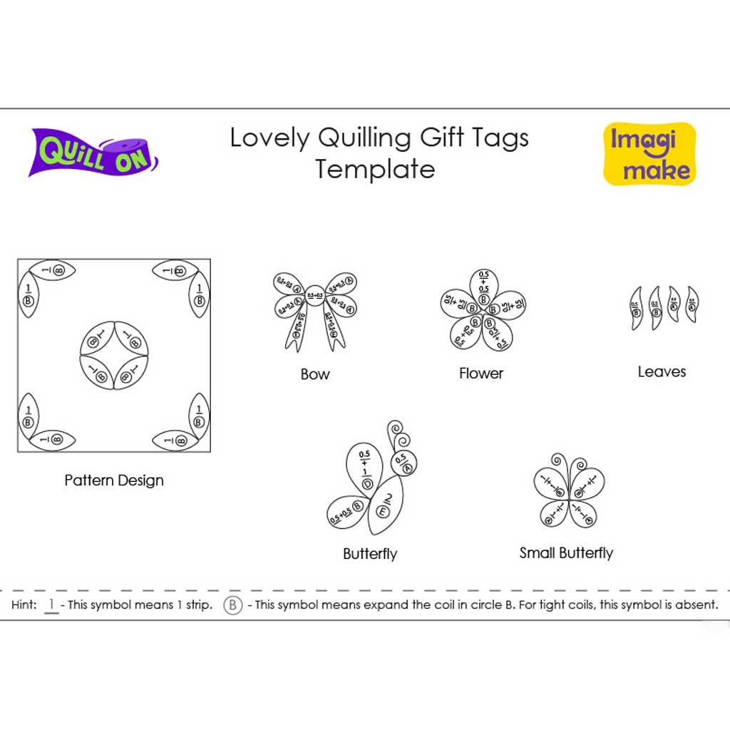 lovely quilling gift tags quill on