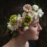 Premium Full Floral Crown
