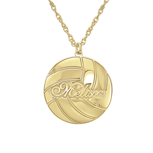Henry's Personalized Volleyball Pendant (21mm)