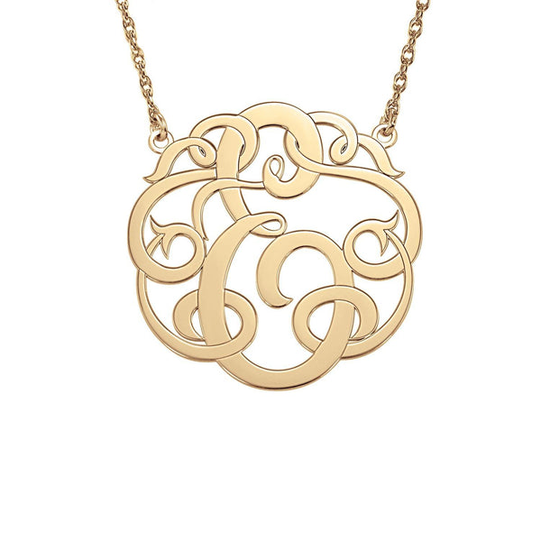 Henry's Single Initial Monogram Necklace