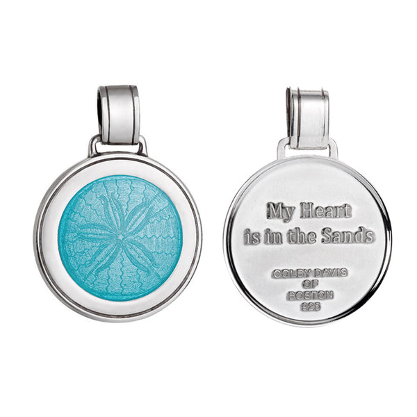 My Heart is in the Sand Pendant and Chain