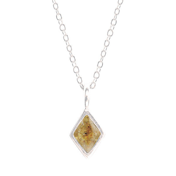 Diamond-shaped Necklace from Dune