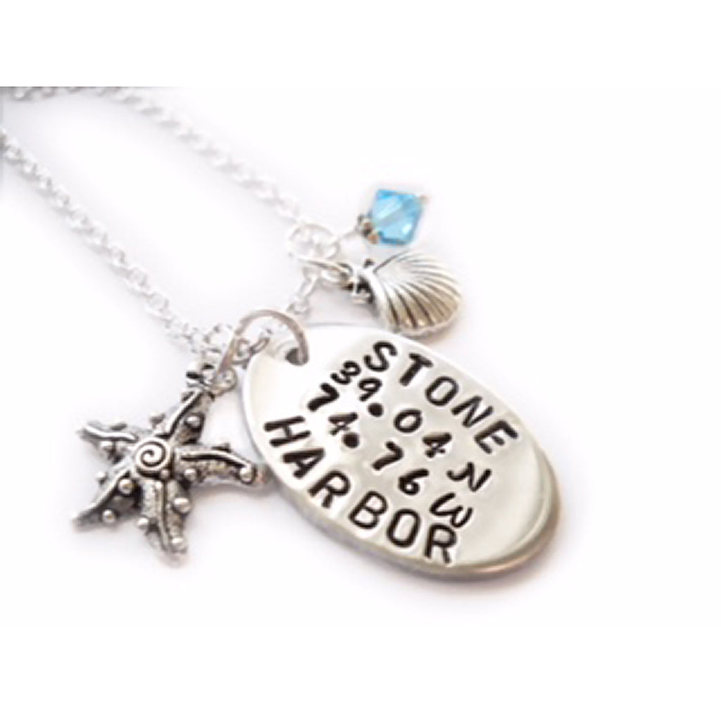 Stone Harbor Charm Necklace