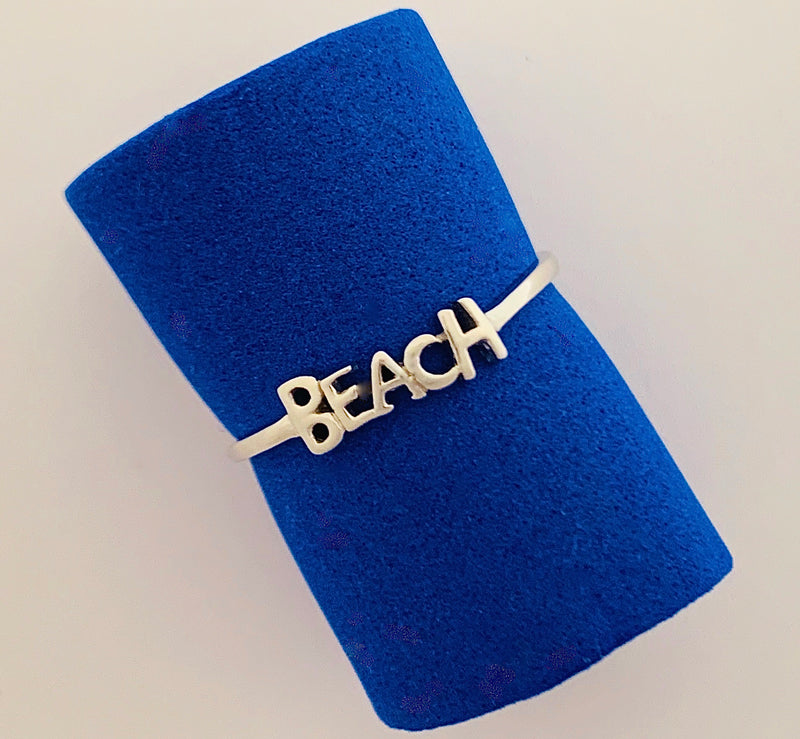 "Sterling Silver ""Beach"" Ring"