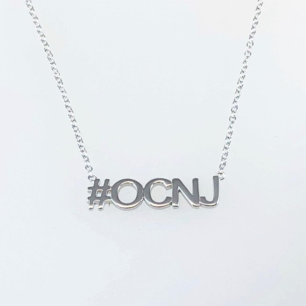 Hashtag OCNJ Necklace