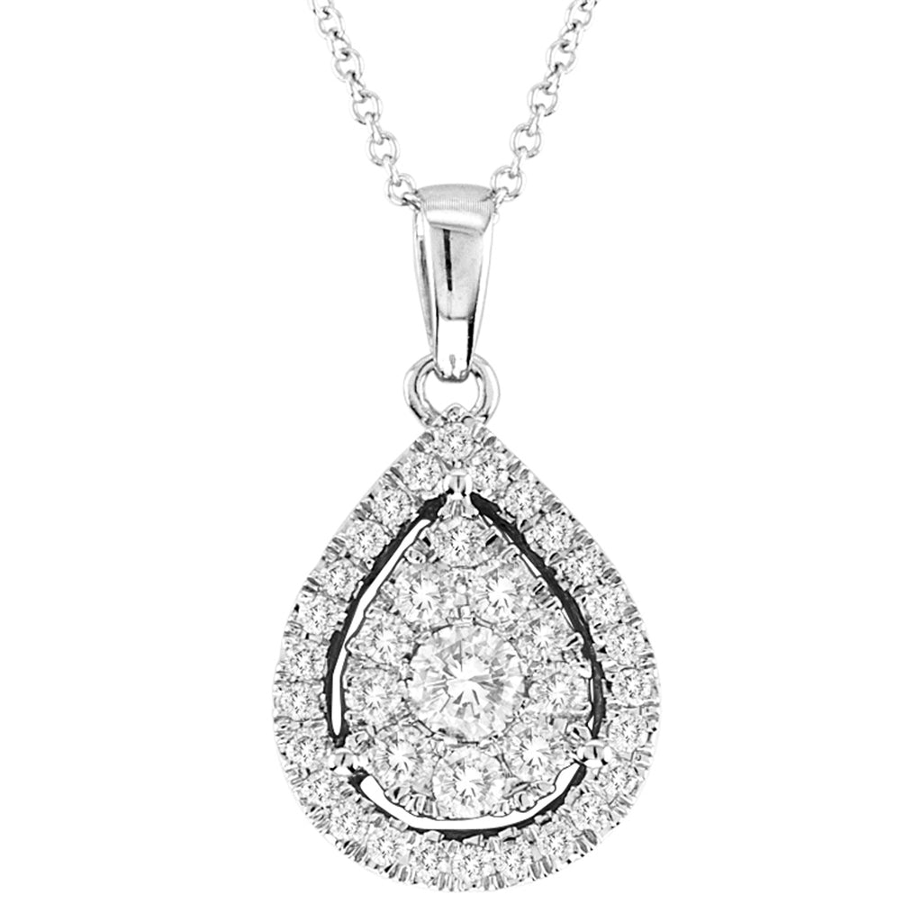 14kt Pear-Shape Necklace