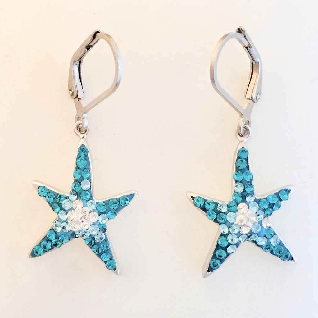 Sea Star Dangle Earrings