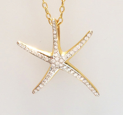Starfish Pendant Large
