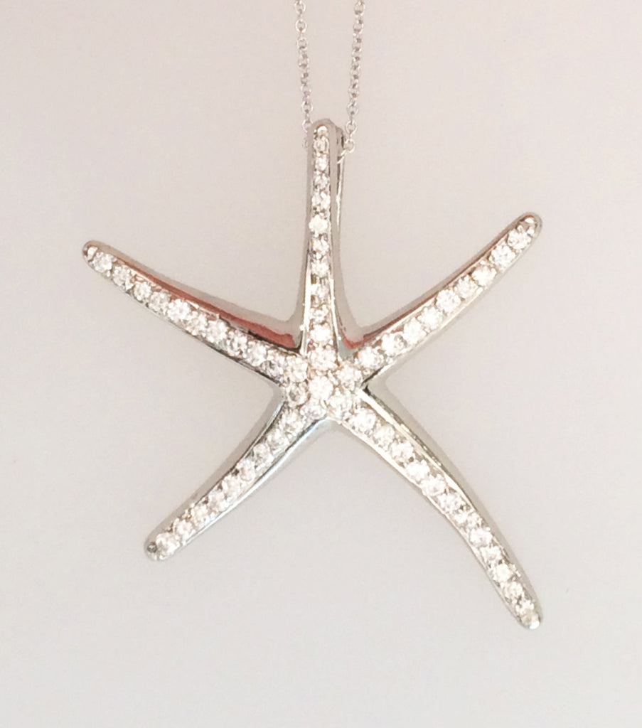 Starfish with Diamonds Large