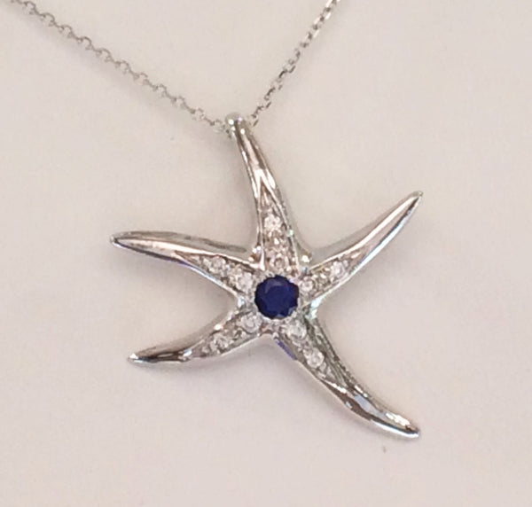 Starfish Pendant - Medium