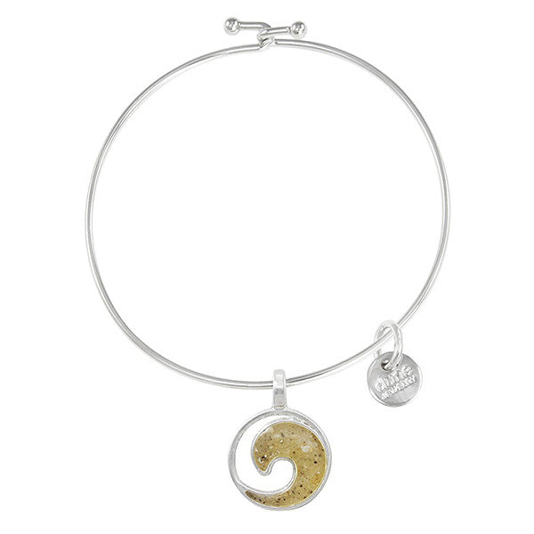 Dune Bangle with Ocean City Sand
