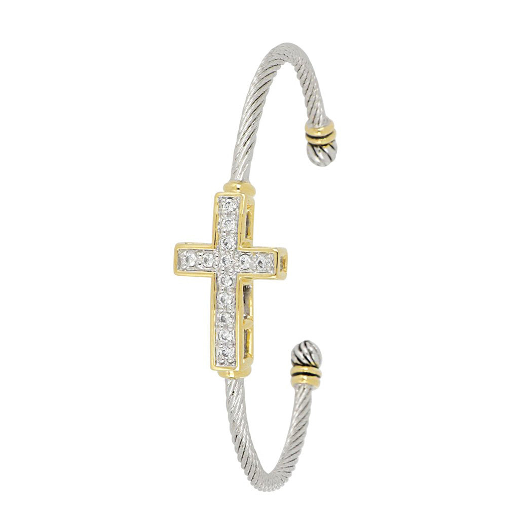 Cross Cuff Bracelet by John Medeiros
