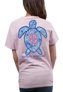 Save the Turtles Tee in Pink