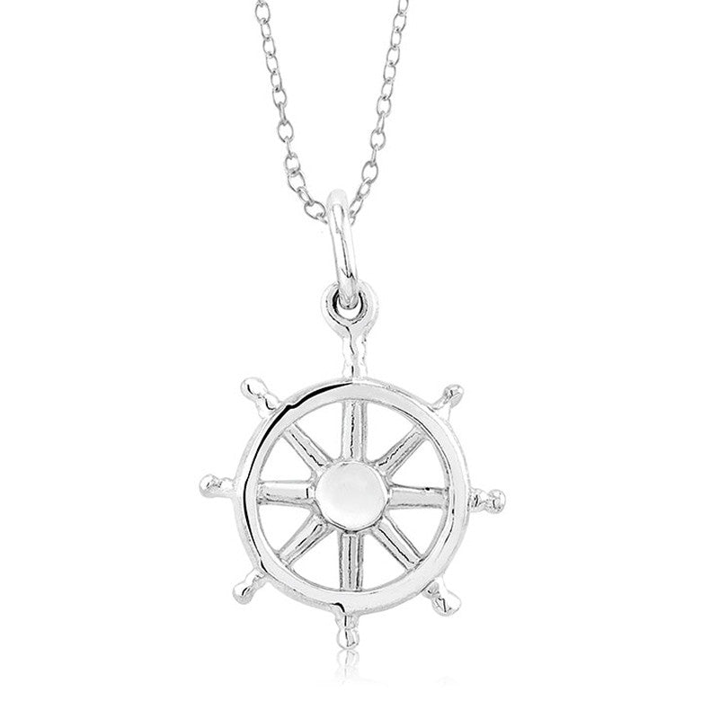 Sterling Silver Ship's Wheel
