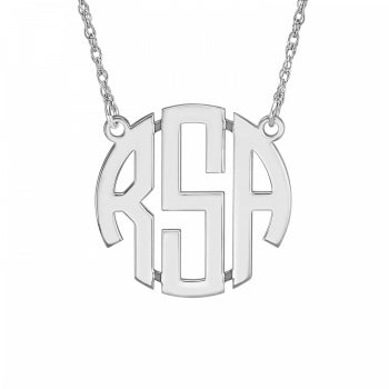 Henry's Original Monogram Necklace