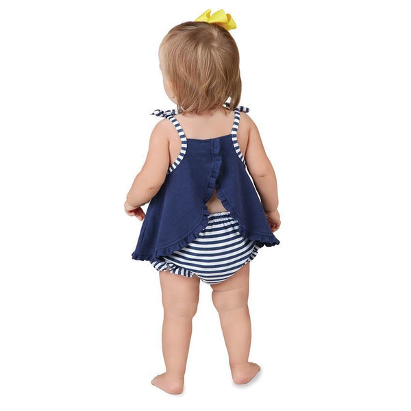 Daisy Sunsuit Bloomer Set