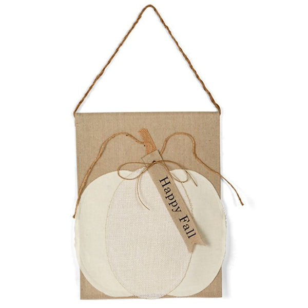 Happy Fall Pumpkin Door Hanger