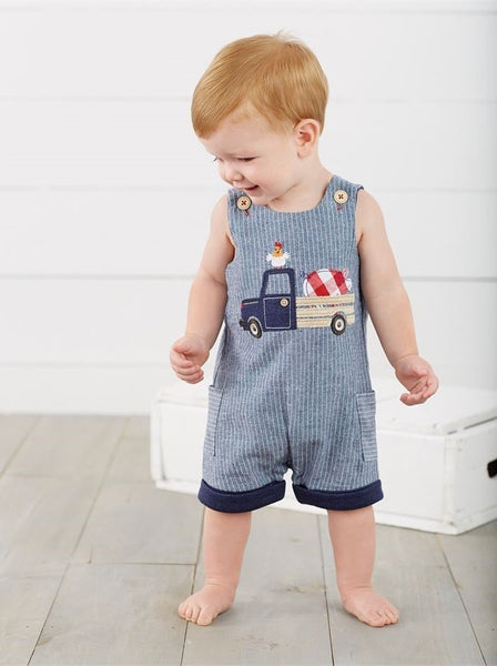 Farmhouse Chambray Shortall