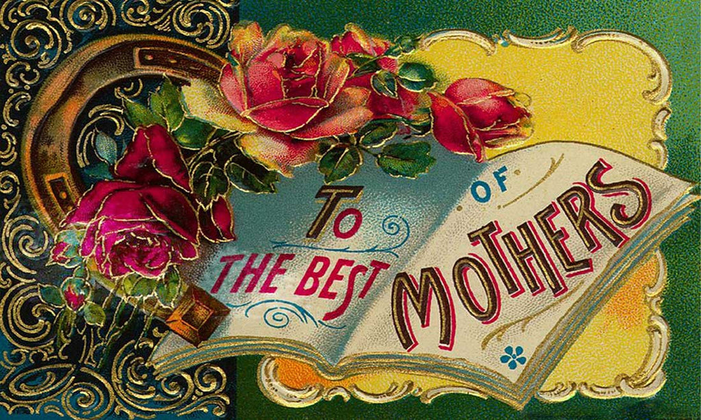 Antique Vintage Mother's Day Card