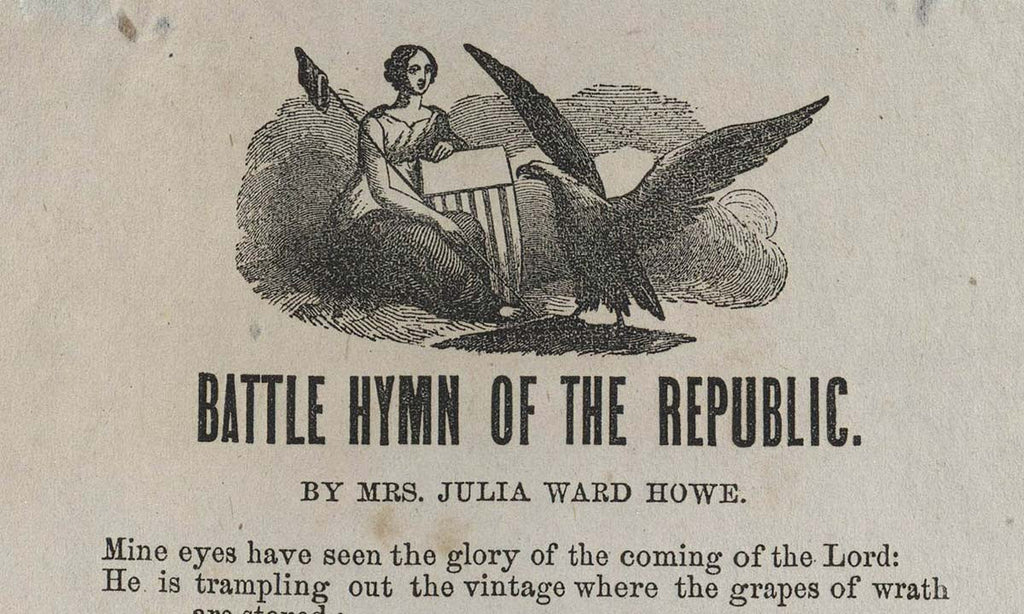 Battle Cry of the Republic – Julia Ward Howe