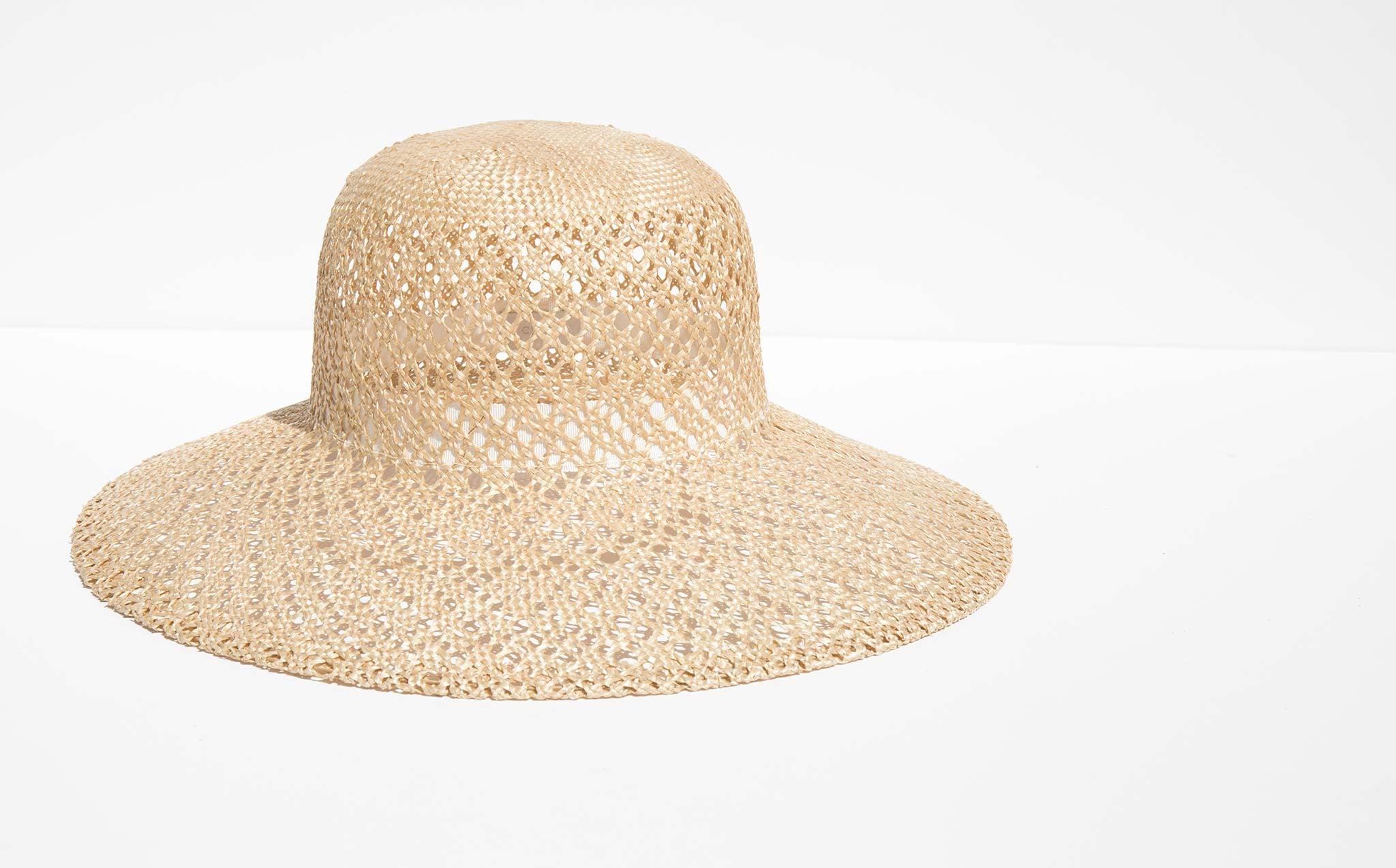 Clyde Natural Lace Straw Koh Hat