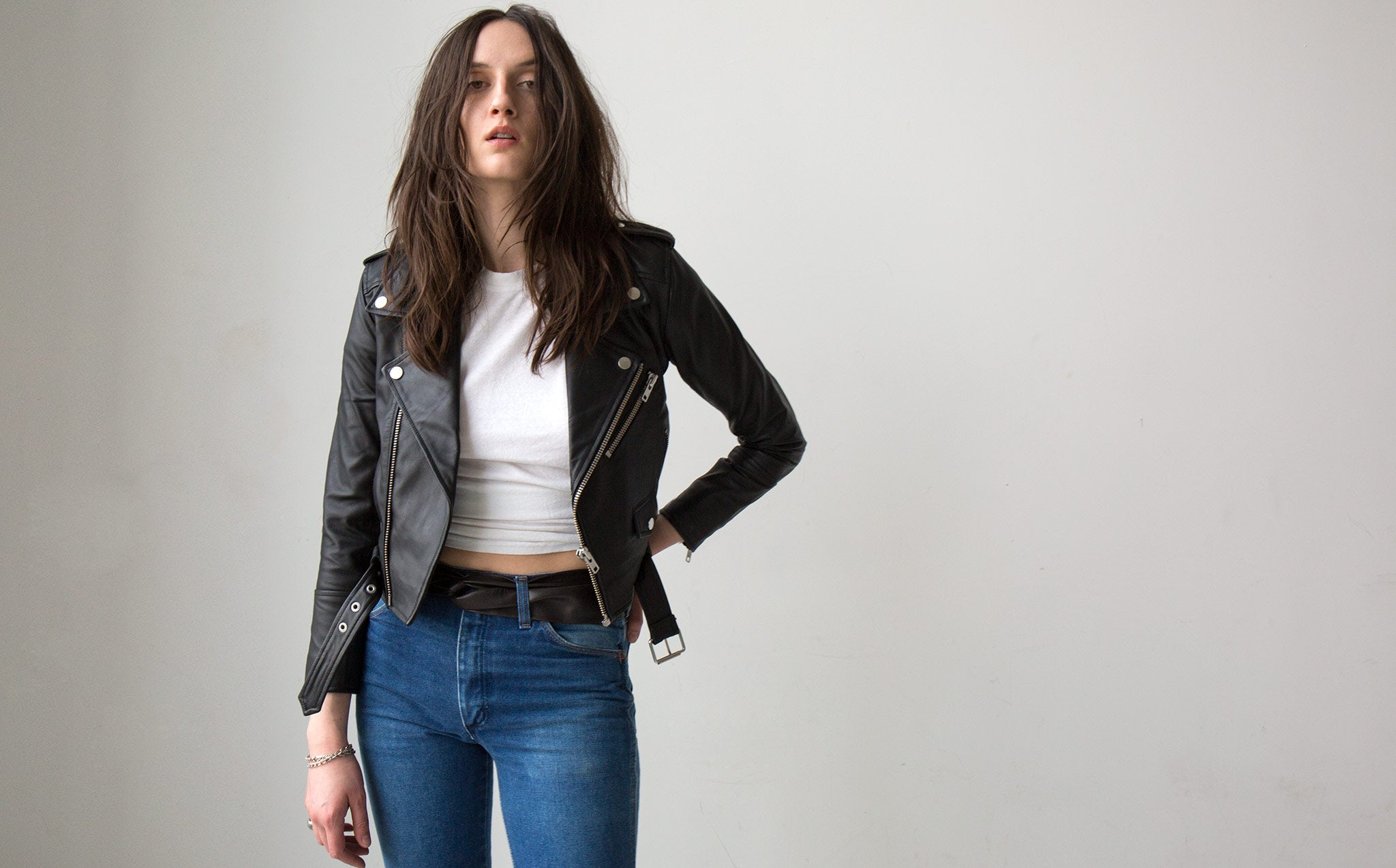 Deadwood Joan Recycled Leather Jacket
