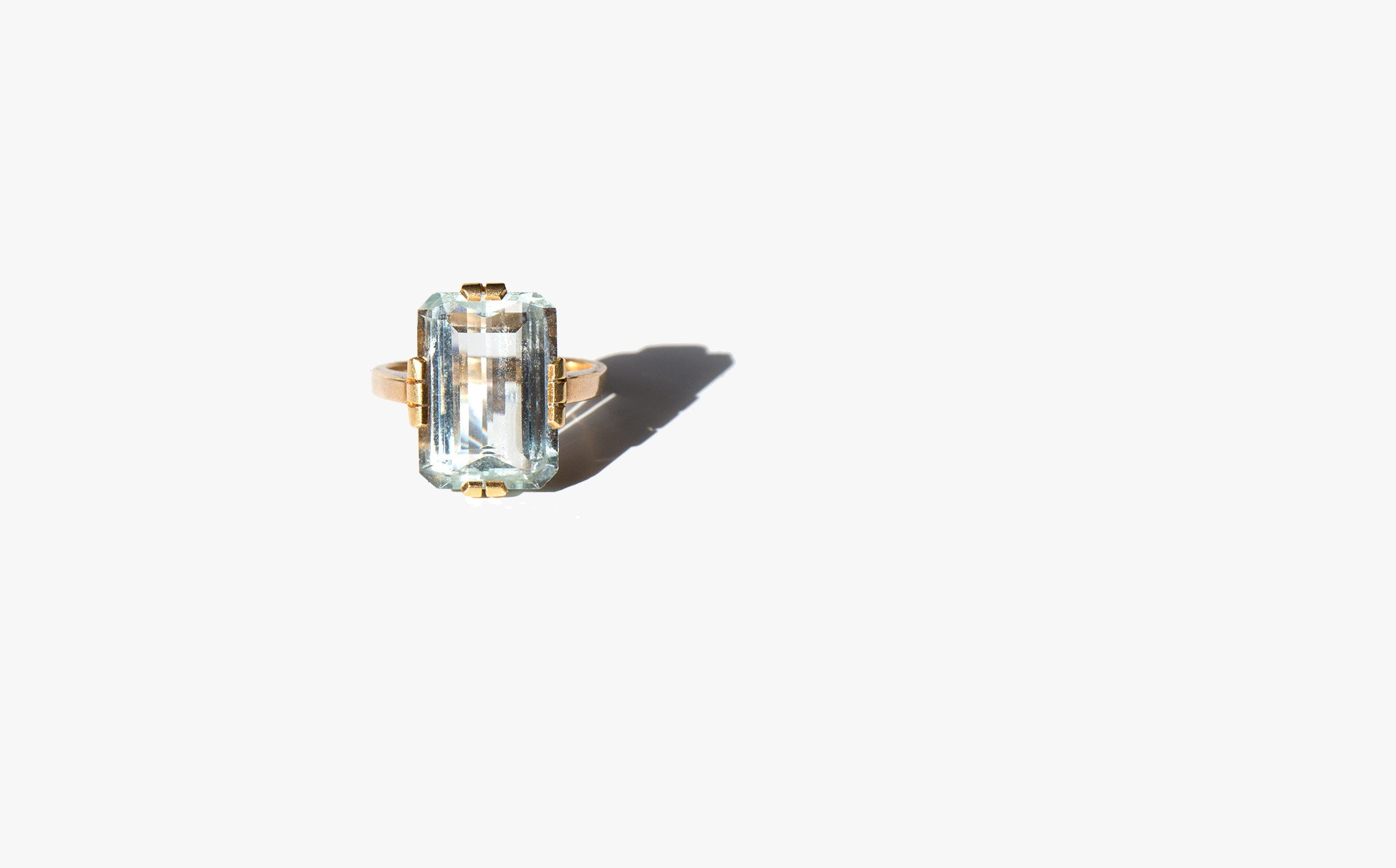 Aquamarine Atlantis Ring