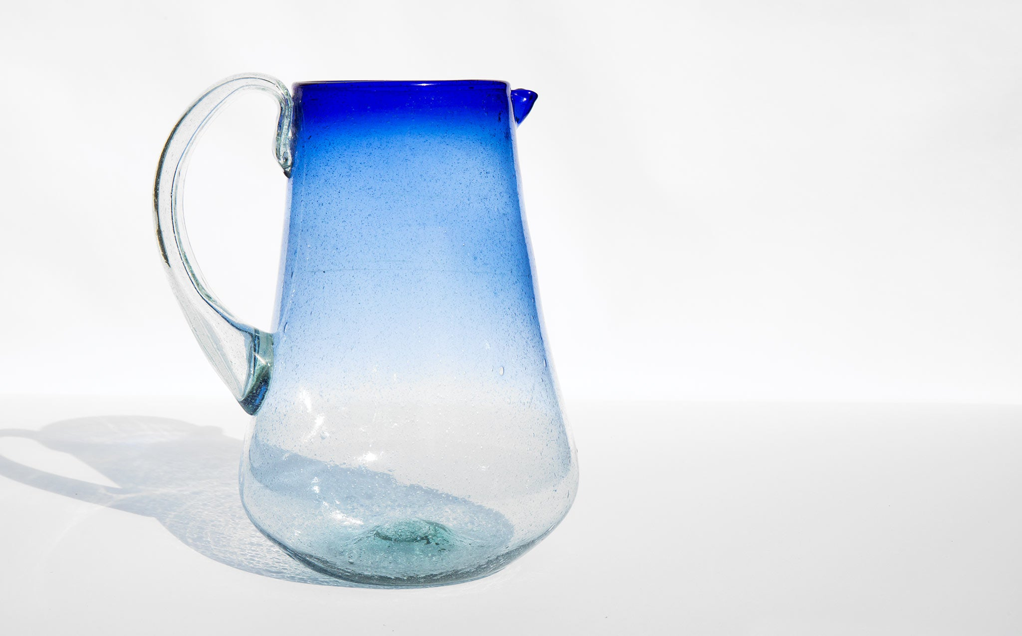 Ombre Cobalt Pitcher