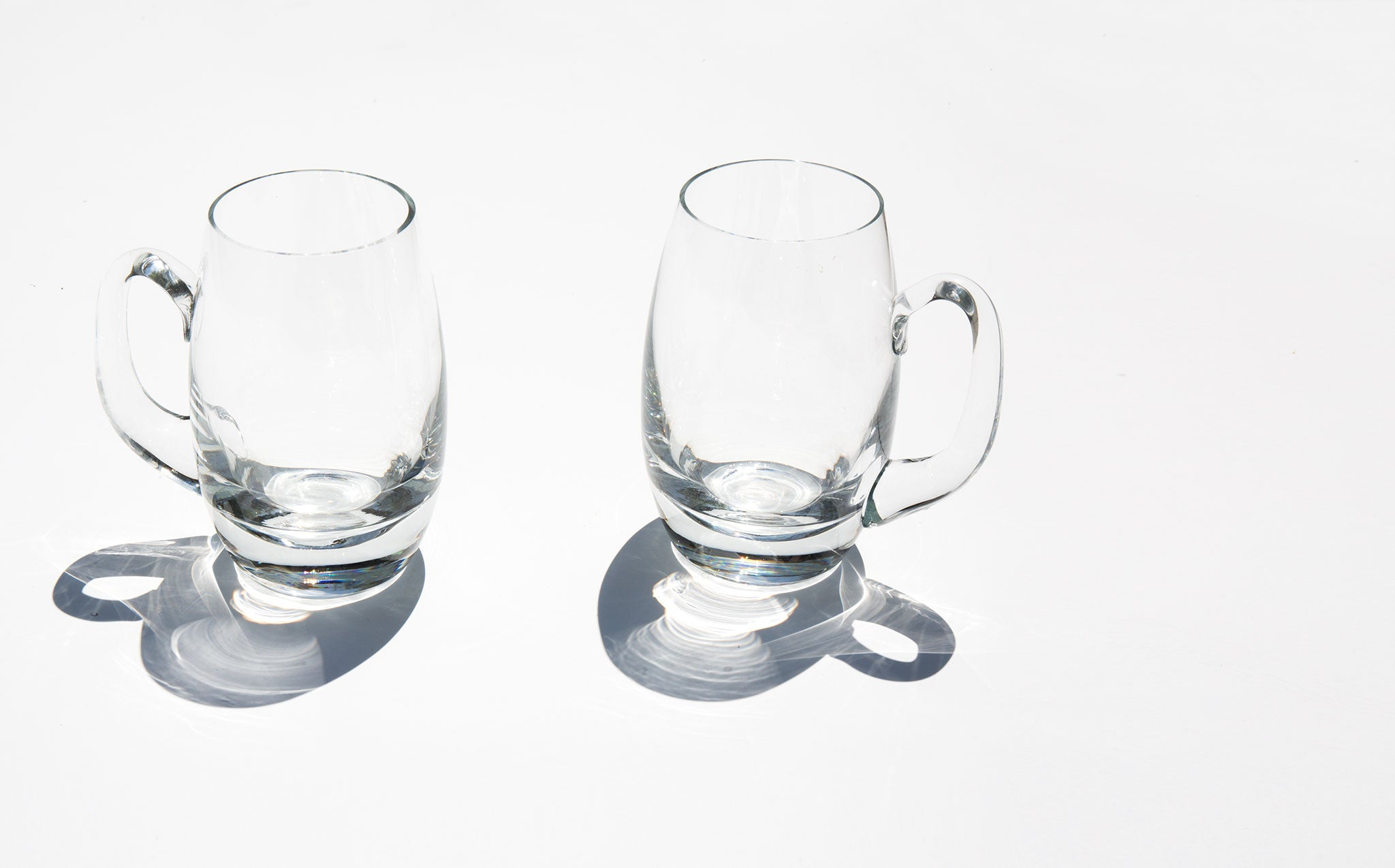 Hand Blown Polish Crystal Mugs