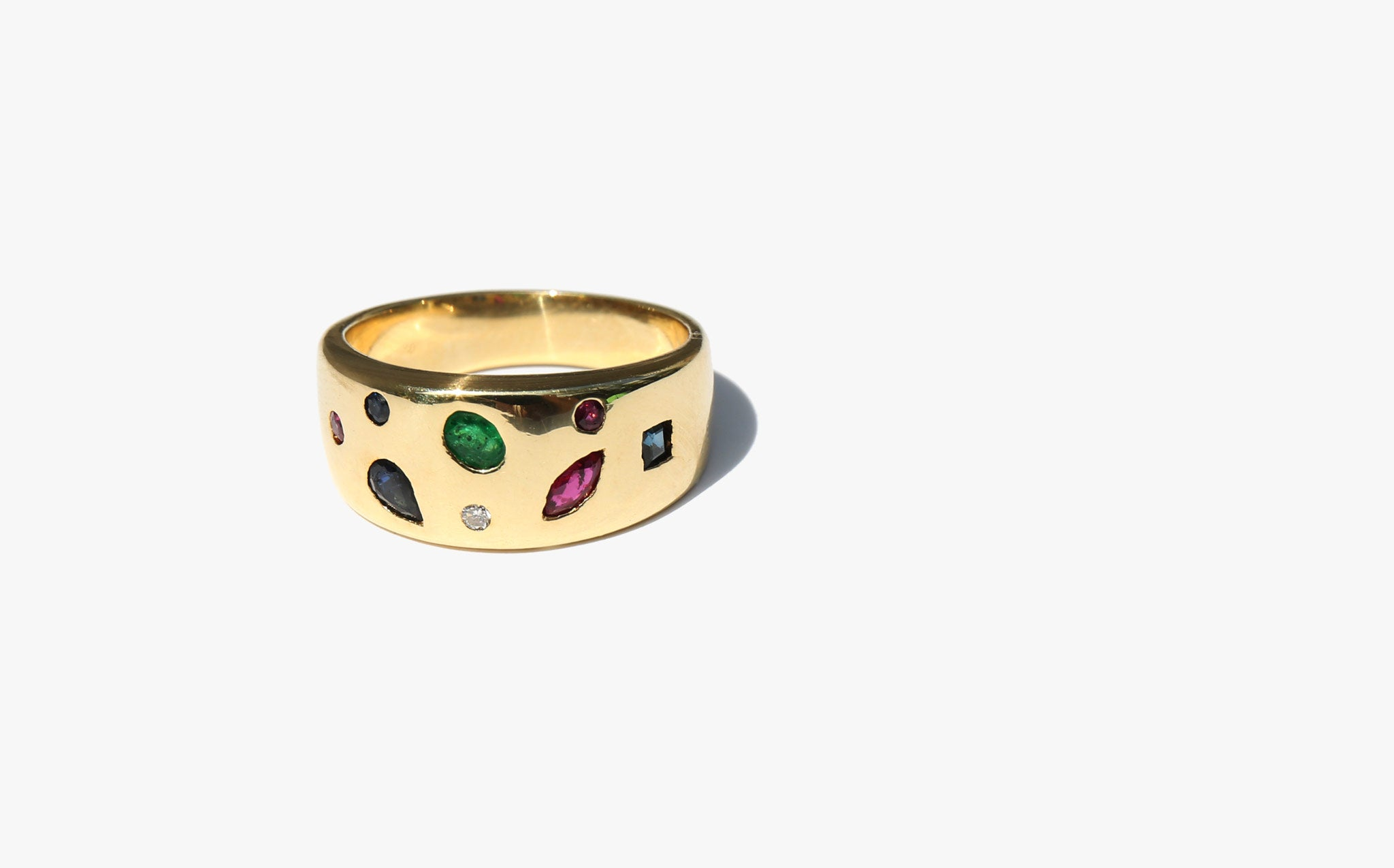 Gold Confetti Ring