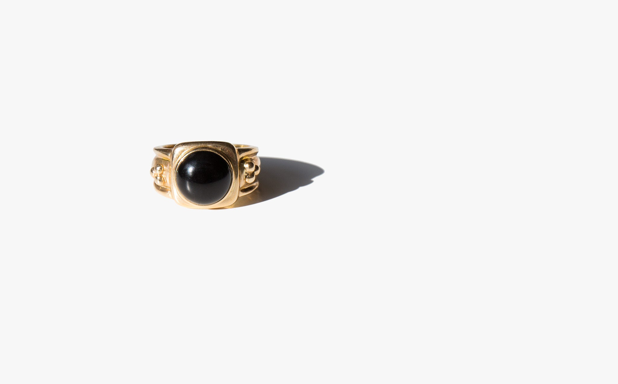 Onyx Revival Signet Ring